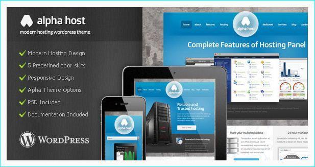 21 Premium Web Hosting WordPress Themes | Premium Web Hosting ...