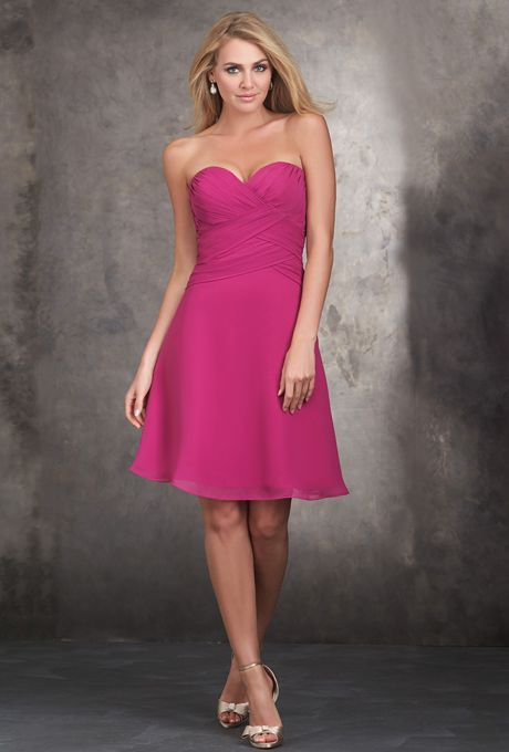 Allure Style 1428, Fuschia, Sz. 14, $168 - Available at Debra's Bridal Shop at the Avenues, 9365 Philips Hwy., Jacksonville,Fl 32256, 904-519-9900. Can be ordered in various colors and sizes.