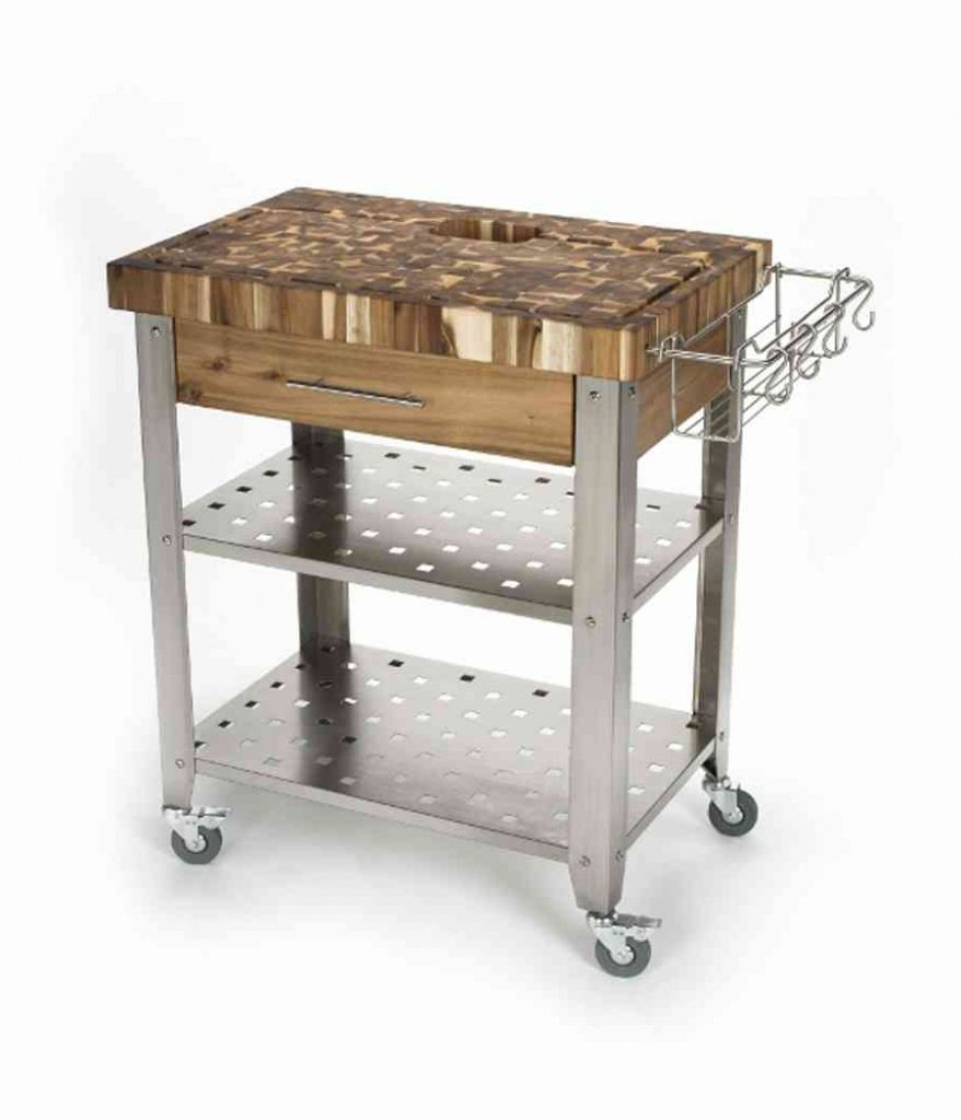 Brilliant Remodels for stainless steel kitchen cart and rolling ...