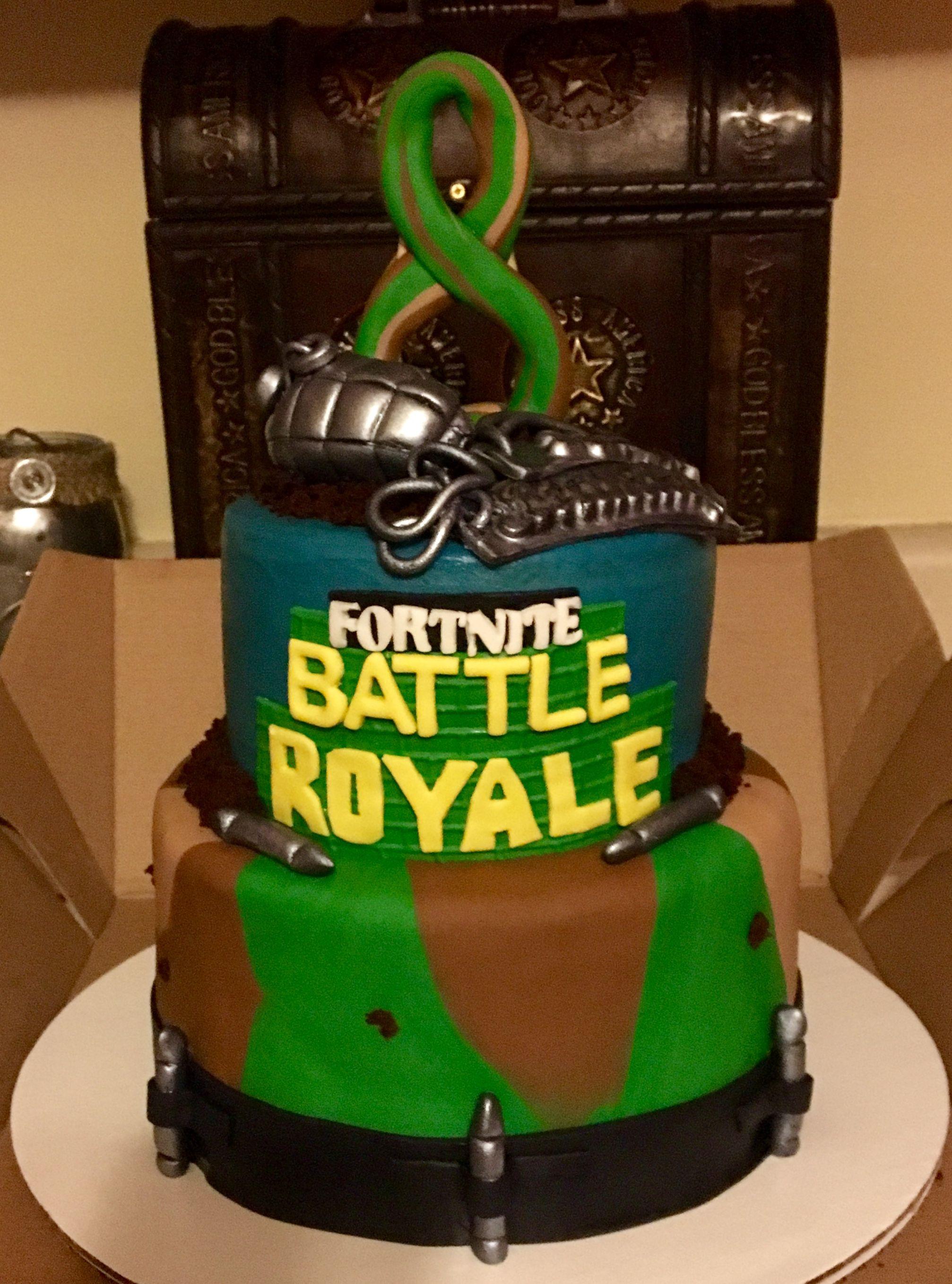 Fortnite cake Fortnite, Cake, Suitcase