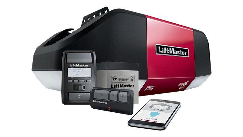 Liftmaster Wled Belt Drive Wi Fi Garage Door Opener Review With Images Garage Door Opener Installation Liftmaster Garage Door Opener Liftmaster Garage Door