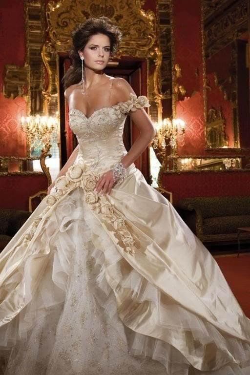 No longer available, but isn\'t this fantasy wedding dress just ...