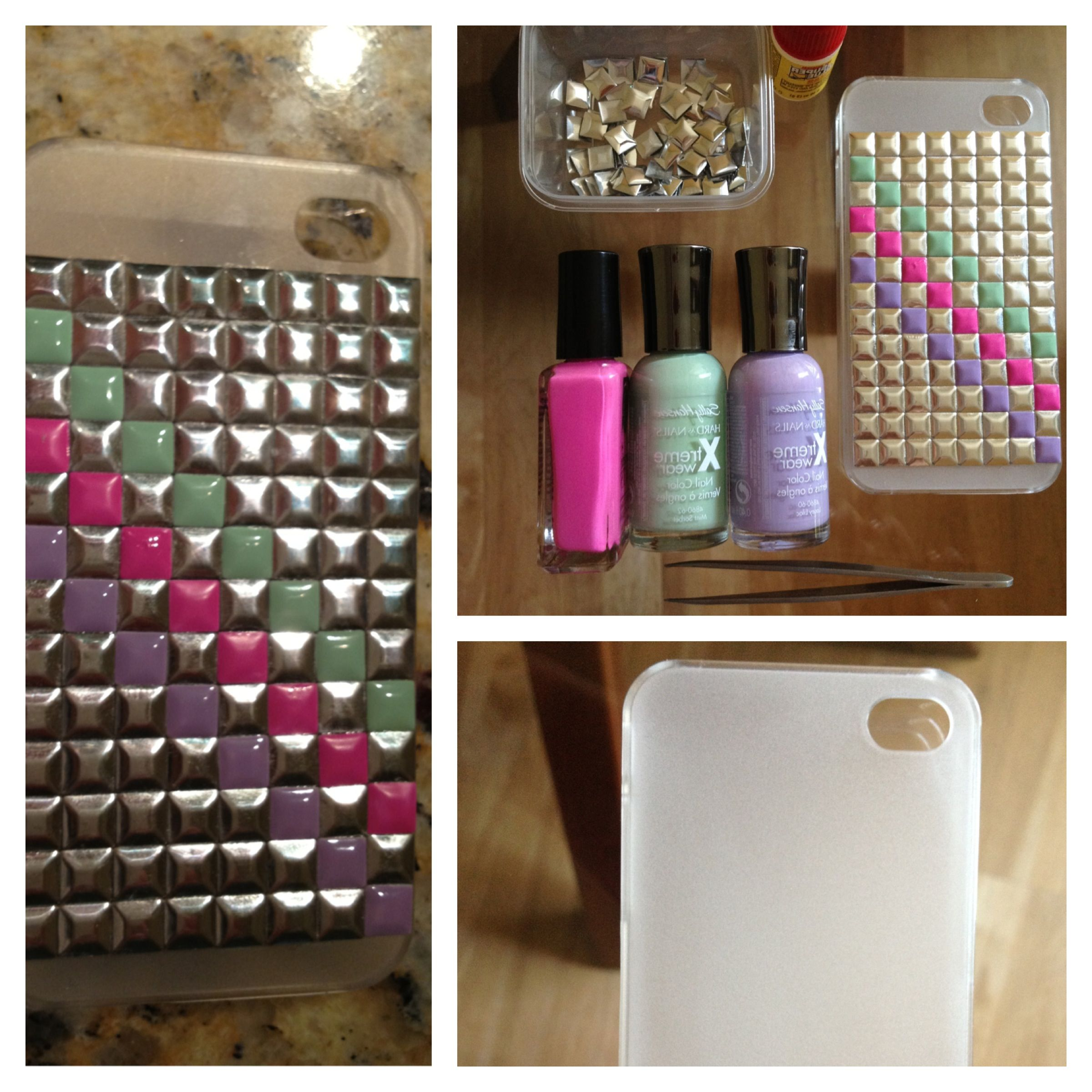 Marble Nail Polish Phone Case: 6 DIYs For The Fall 2013 Embellished Trend
