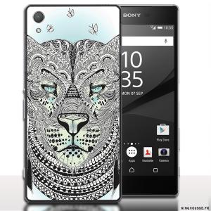 Coque Tigre Azteque Sony Xperia z5. #XperiaSony #Z5 #Tigre #Azteque