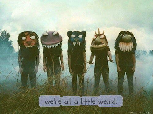 Weird ♥ on We Heart It