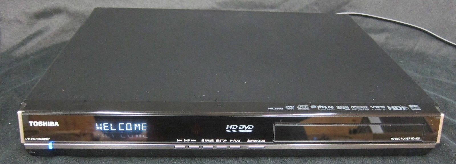 Toshiba HD-A35 HD DVD Player Great Condition Tested Working