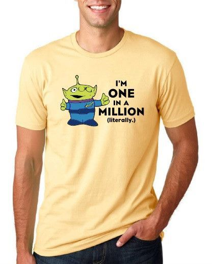 I'm One in a Million (literally.) - Men's Crew