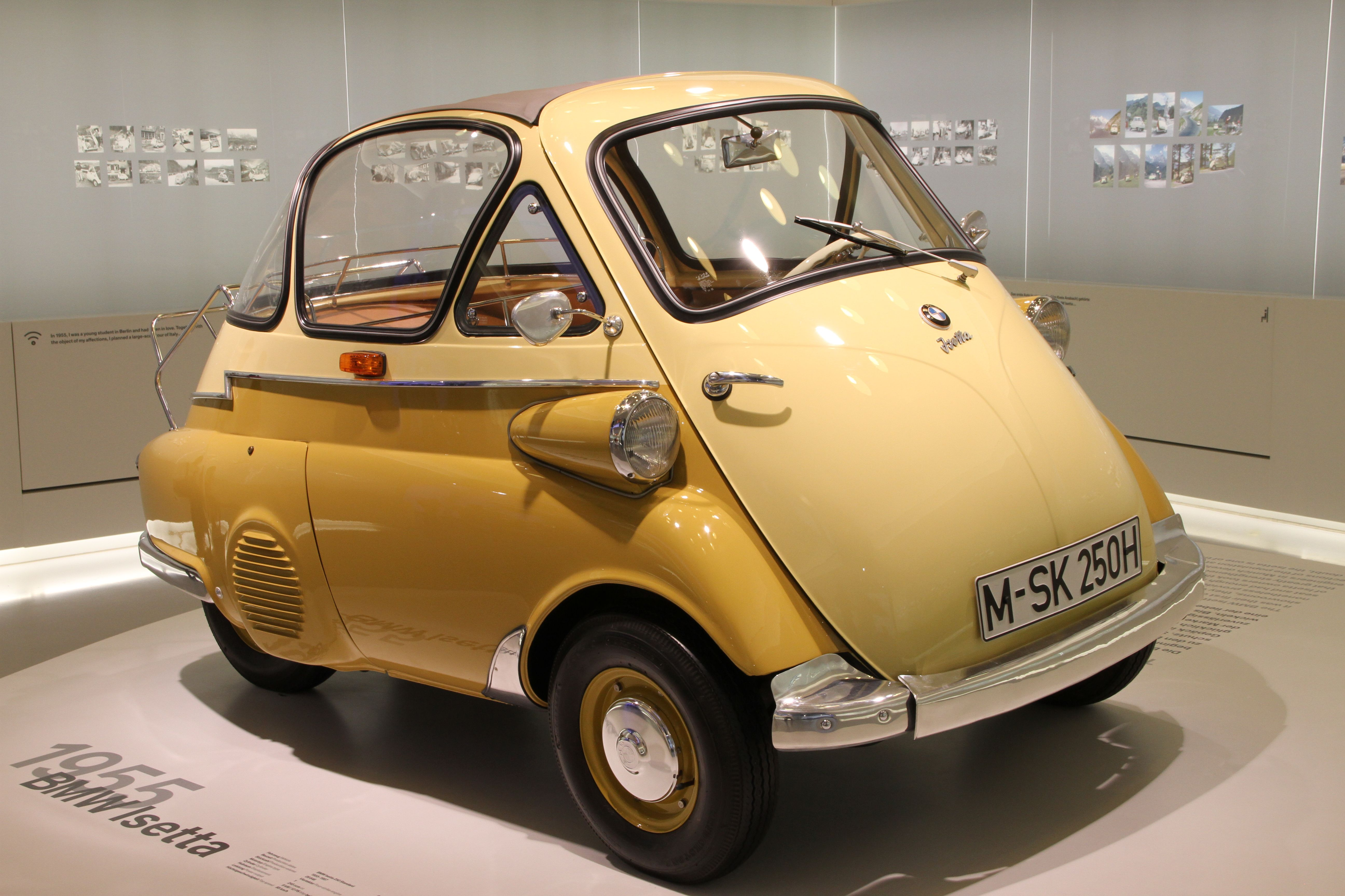 1955 BMW Isetta 250 | FIAT | Pinterest | BMW, Cars and Small cars