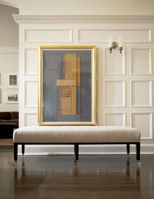 Benches & Ottomans - Library Bench | Furniture Collection by Maxine Snider Inc.