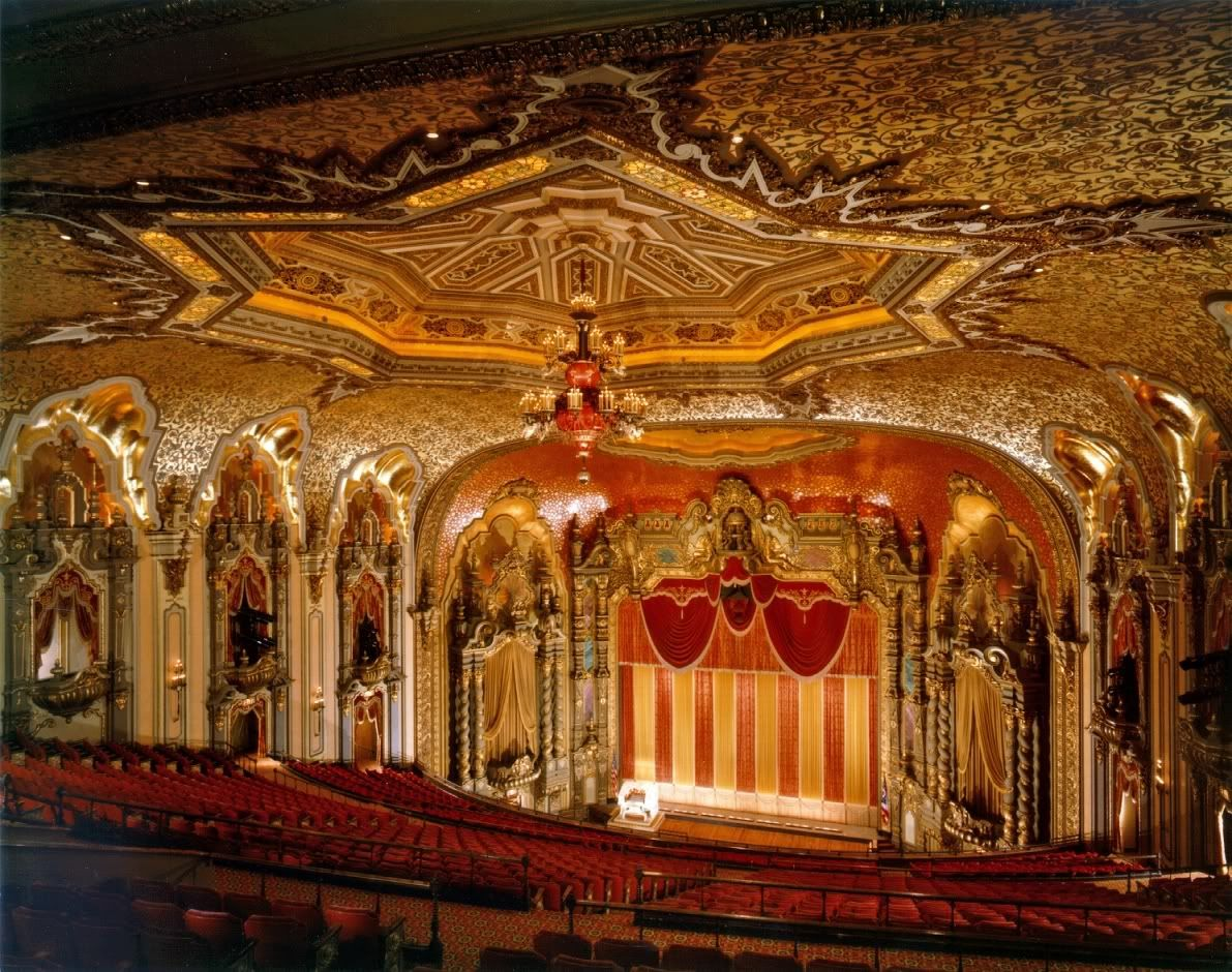 Movie palace in Columbus, Ohio (refurbished as a theater)