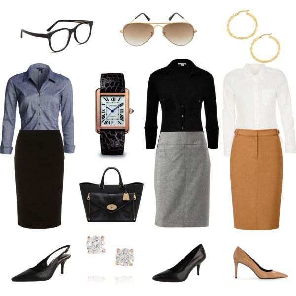 Classic work wardrobe - claire underwood by puremoxy-by-cathy on Polyvore featuring James Perse, NIC+ZOE, 212 Collection, Viyella, Dorothy Perkins, Calvin Klein, MANGO, Mulberry, Cartier and Fremada