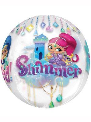 """Shimmer & Shine 16"""" Orbz Foil Balloon"""