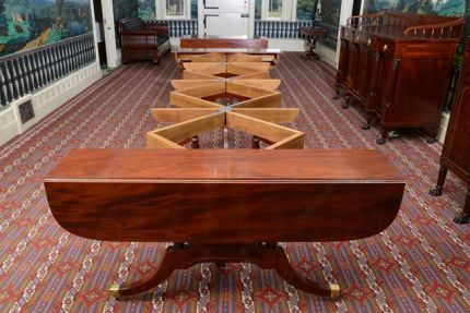 Federal Dining Table By Duncan Phyfe Fine Woodworking Este R