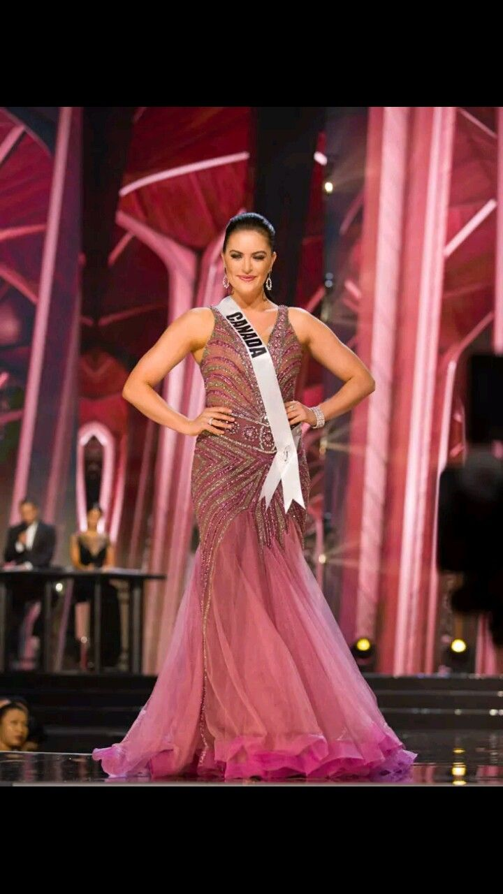Miss Canada 2016 Evening Gown | Miss Universe 2016 | Pinterest