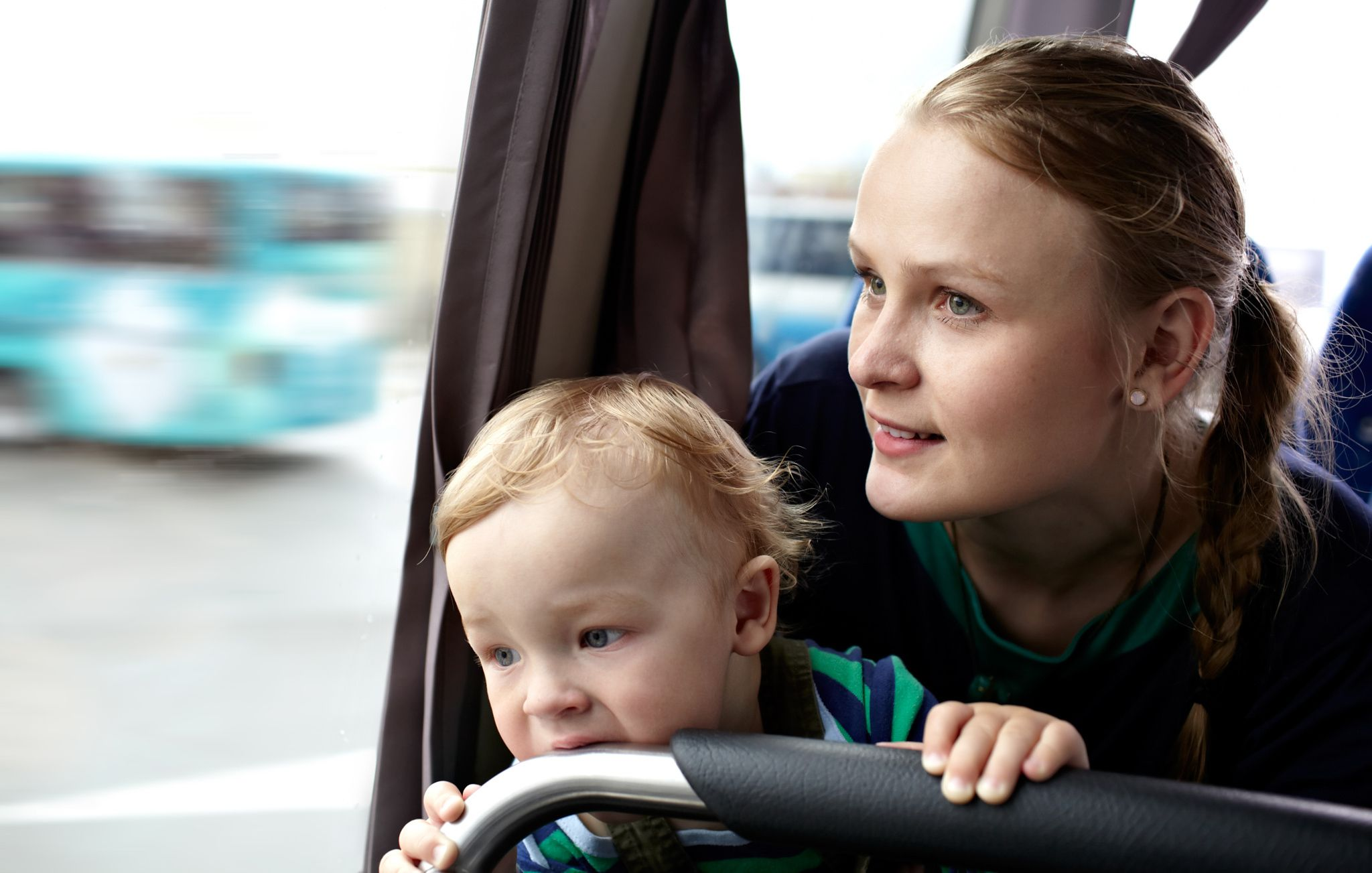 Mother and son travel by bus. by Danil Roudenko on 500px