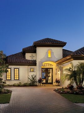 tampa mediterranean exterior photos design pictures remodel decor and ideas page 9 - Mediterranean Exterior Design House