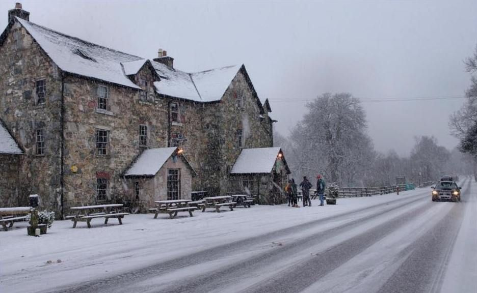 The Drovers Inn >> The Drovers Inn Is Located At The Top End Of The Beautiful