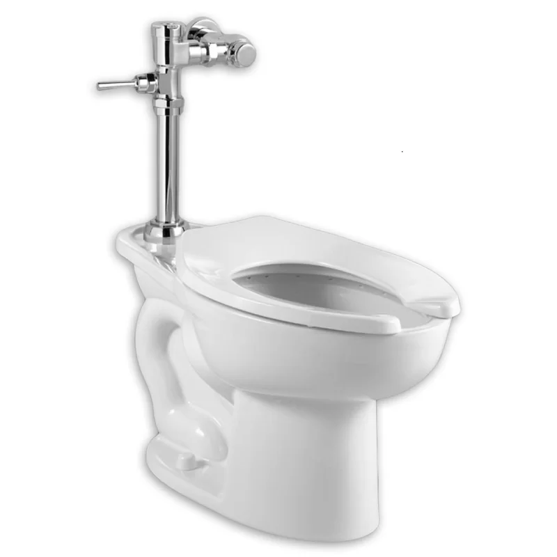 Madera Elongated System Manual Flush Valve Dual Flush Elongated One Piece Toilet Seat Included One Piece Toilets Flush Valves Commercial Toilet