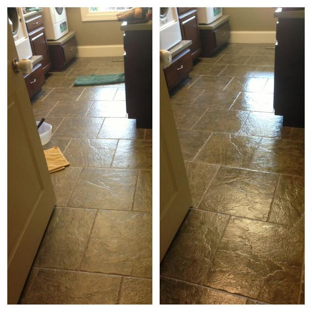 Dupont High Gloss Sealer On My Laundry Room Floor Easy I Love It