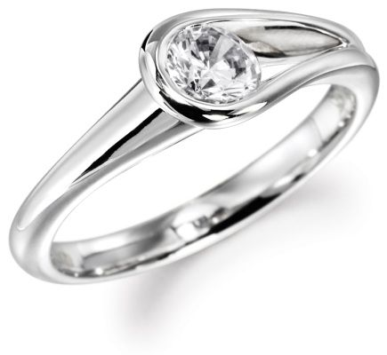Inset Diamond Ring One Day When I Decide To Get My Engagement Reset