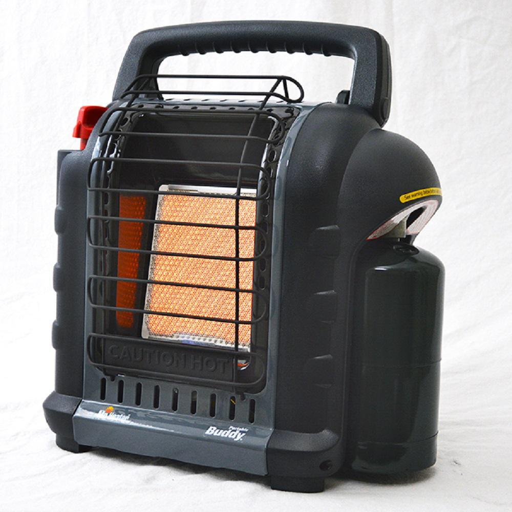 Mr Heater 9 000 Btu Radiant Propane Portable Heater In Grey