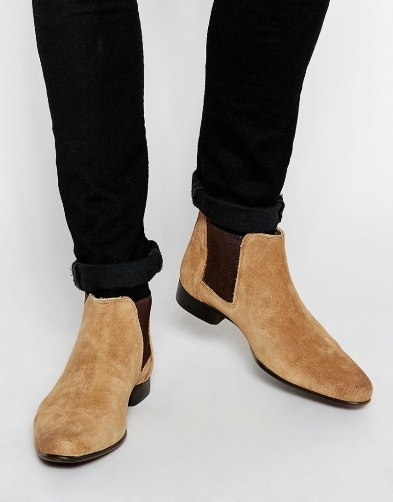 Suede Boots For Men - Cr Boot