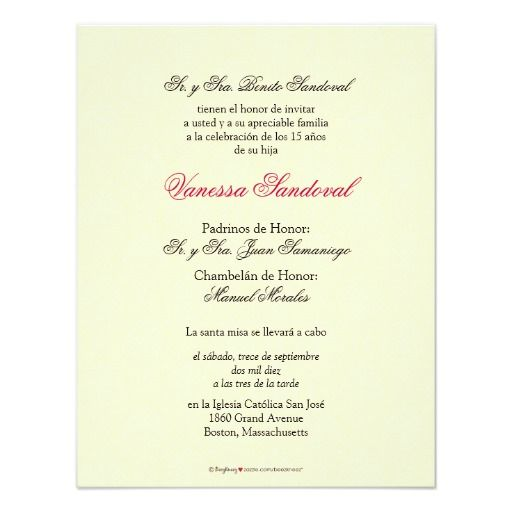Spanish Yellow Damask Quinceanera Invitacion Invitation
