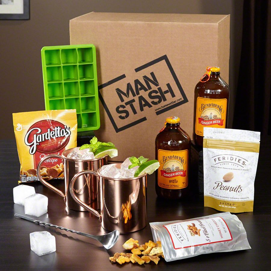 Give the gift of great drinks and great eats with this for Craft cocktail gift set