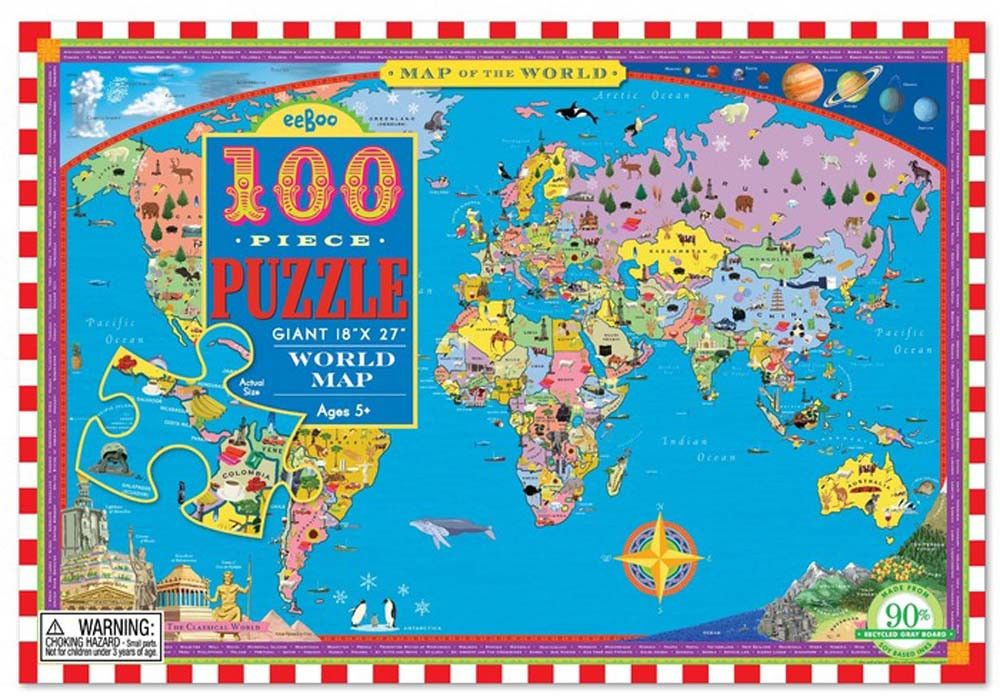 Map Jigsaw Puzzles Uk