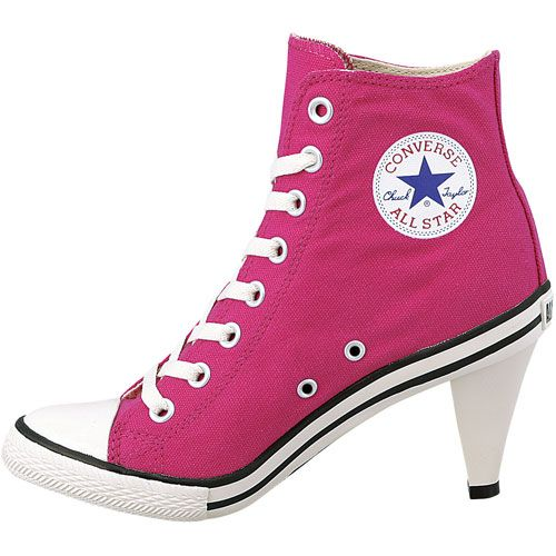 6864c62e8 High heel Converse. | Cool Clothes in 2019 | Converse heels, High ...