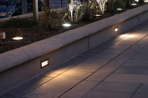 outdoor led step lights recessed led lighting fixture american lighting indoor or outdoor led step lights