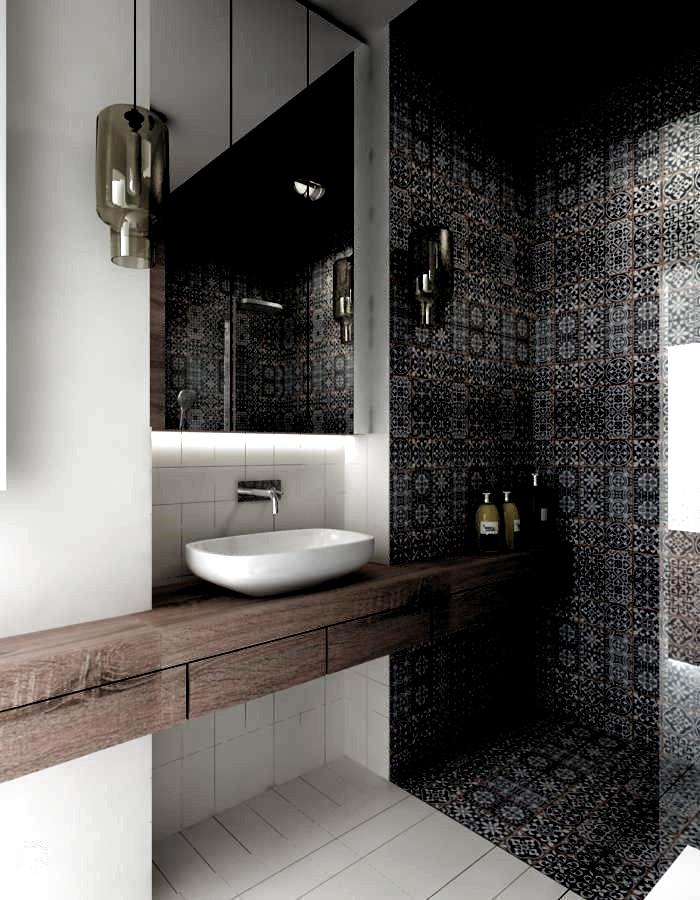 25 Stunning Tile Shower Designs Ideas For Bathroom Remodel 2018 Small Bathroom Ideas Remodel Gu In 2020 Beautiful Tile Bathroom Modern Small Bathrooms Modern Bathroom