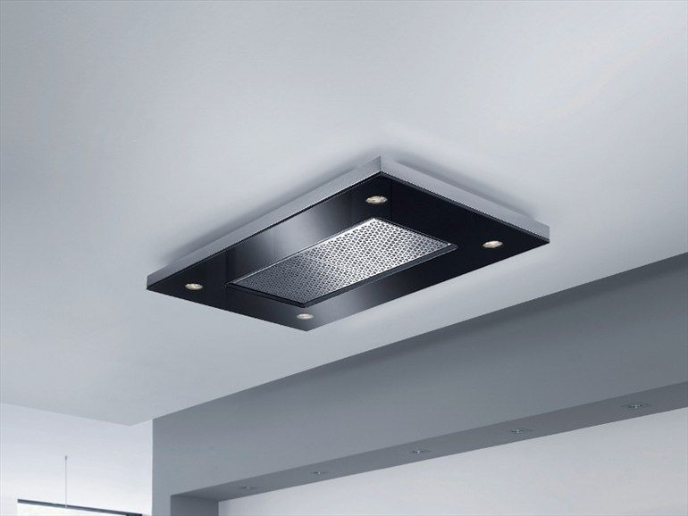 Ceiling Mounted Stainless Steel Cooker Hood Capa Cielo Collection By Gutmann Kochfeldabzug Glasfarbe Absaugung