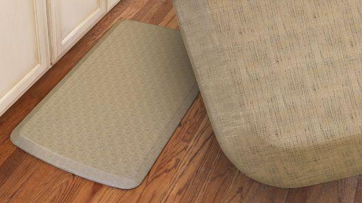 GelPro Elite Linen Sandalwood Gel Mats | Gel Filled Comfort Floor Mats And Kitchen  Mats