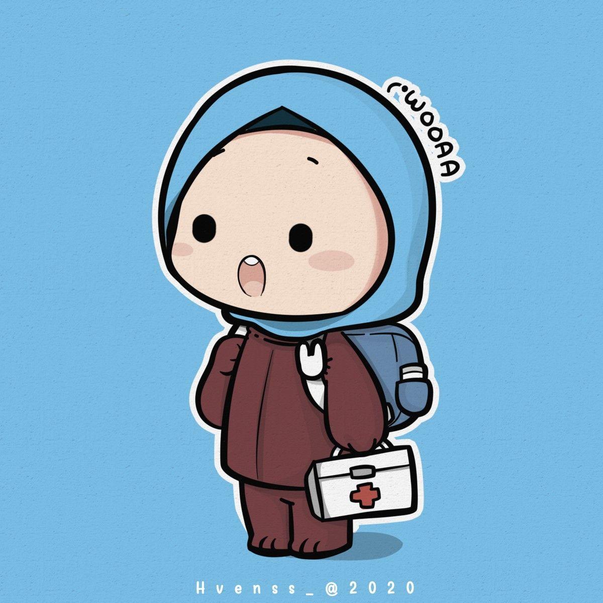 Woaaa Kartun Muslimah di 2020 Kartun, Ilustrasi