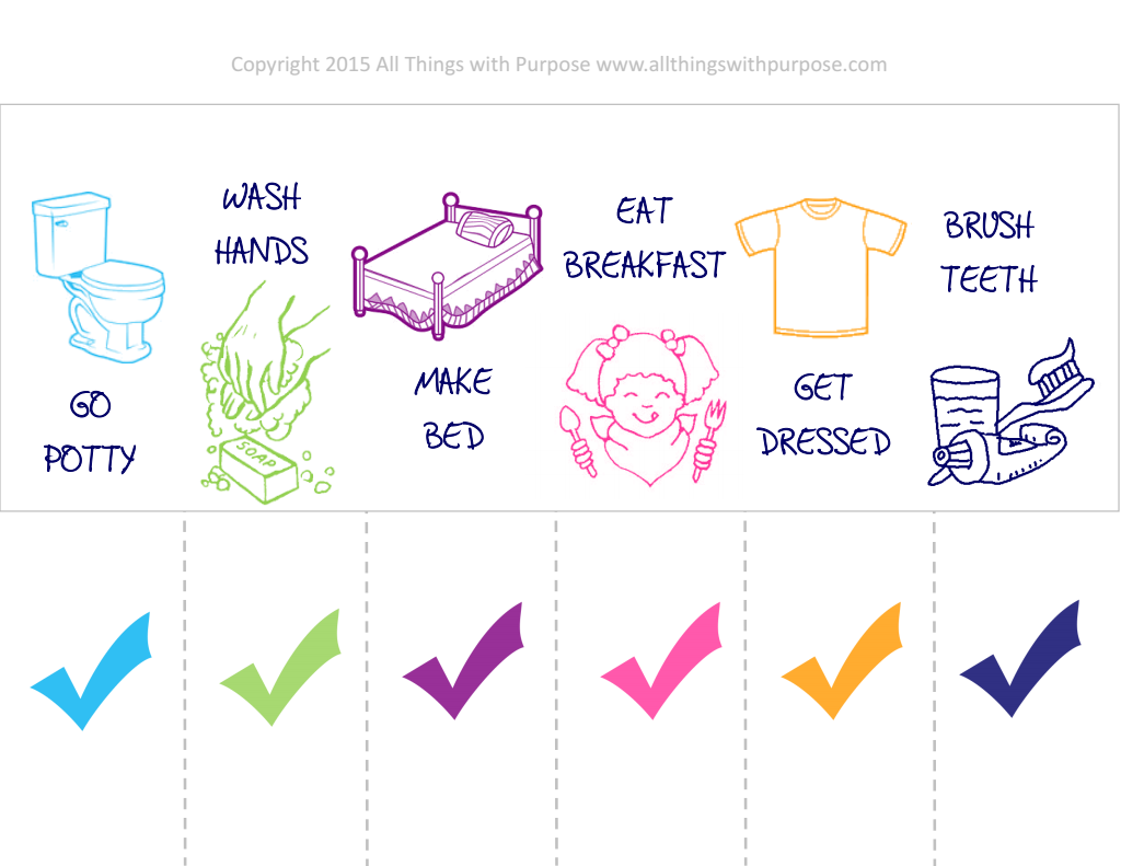 Preschool Morning Chores.pdf Google Drive (With images