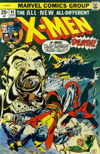 X Men Vol 1 94 Rare Comic Books Marvel Comics Covers Comics