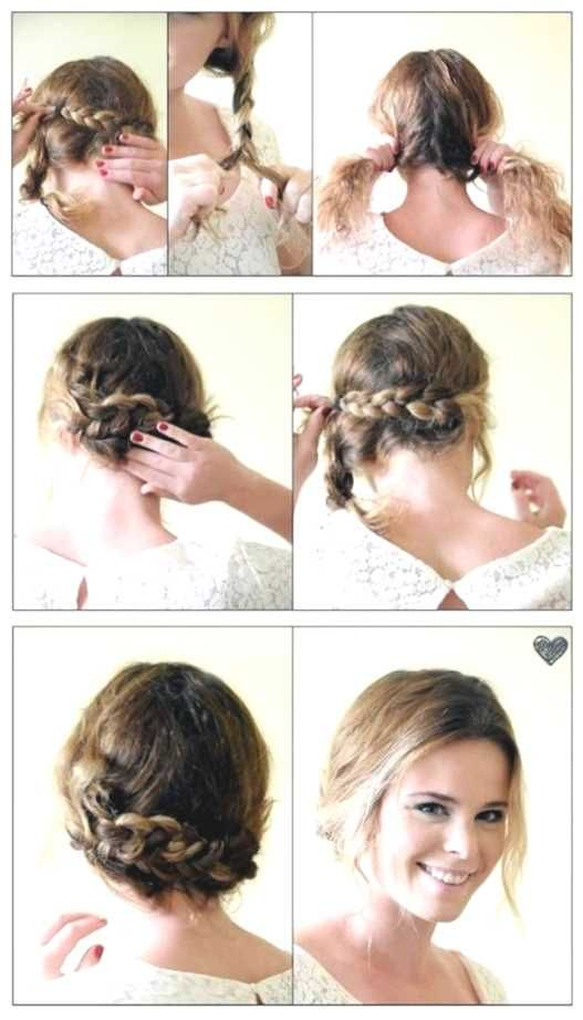 Frisuren fur mittellange haare mit anleitung