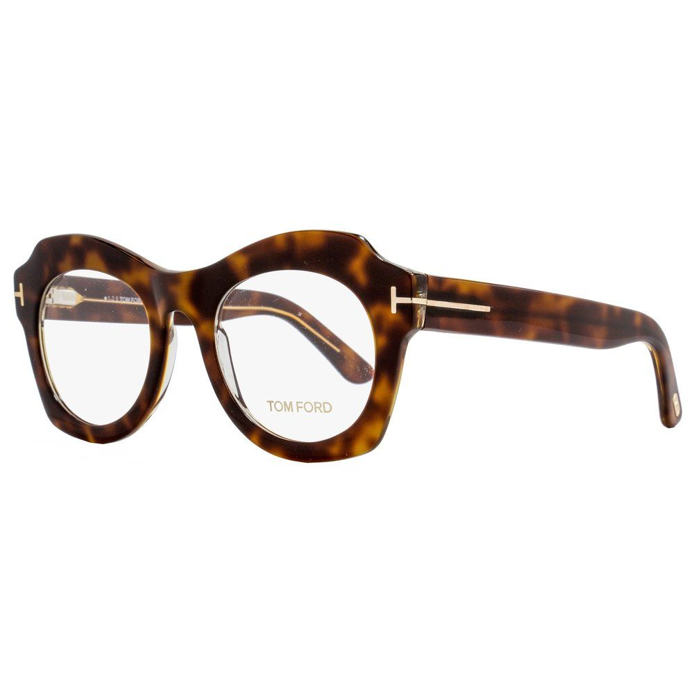 f95f32adca78f Shop Tom Ford TF5360 056 Womens Brown 49 mm Eyeglasses - Free Shipping Today  - Overstock.com - 15434467