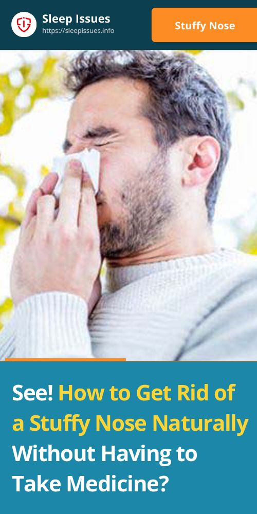 how to get rid of a blocked nose