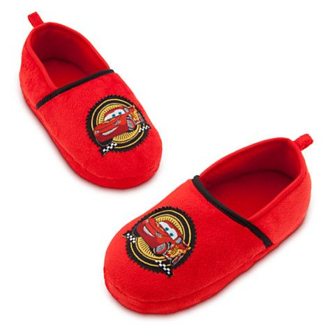 Lightning McQueen Slippers for Boys | .: CARS - Shoes ...