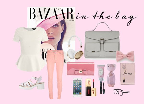 """Pink is never wrong"" by rizkadwil ❤ liked on Polyvore"