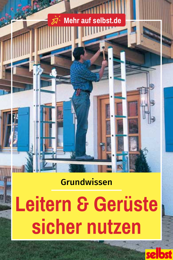 Leitern Leiter, Gartenhaus selber bauen, Pavillon selber