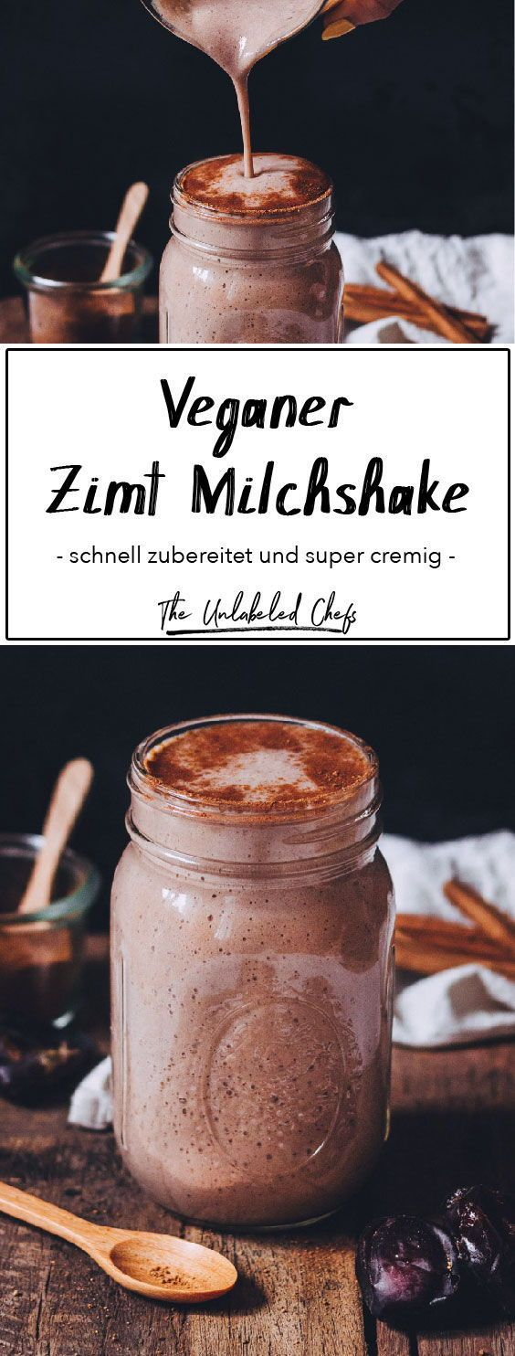 Zimt Milchshake - The Unlabeled Chefs