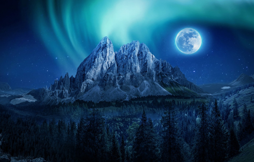 Pin By Cat Cat On L Nightscape Scenery Green Screen Backgrounds