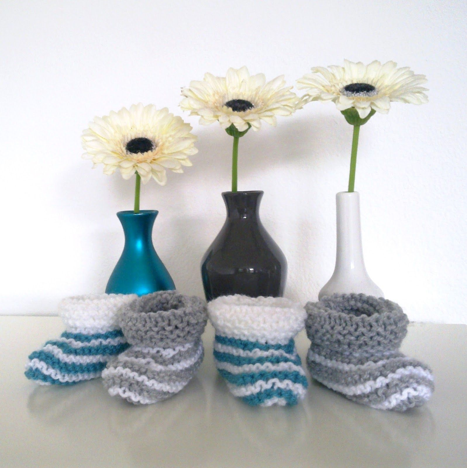 Easiest & Fastest baby booties ever pattern! Anyone could make these ...