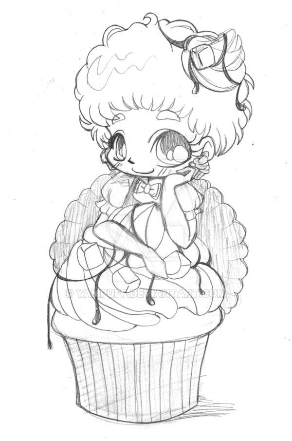 Peanut Butter Fudge Chibi By Yampuff Zeichnungen