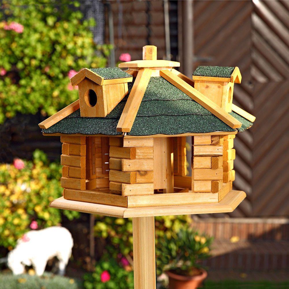 vogelhaus vogelfutterhaus vogelhäuser vogelhäuschen holz vogelvilla