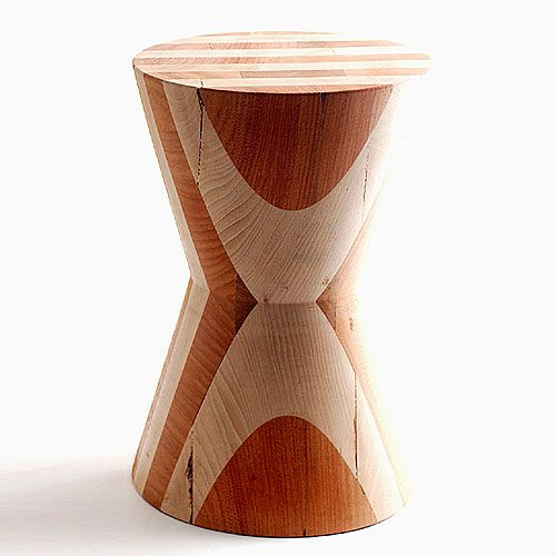 Eco First Art Boca Do Lobo Leroy Wooden Stool Or Side Table