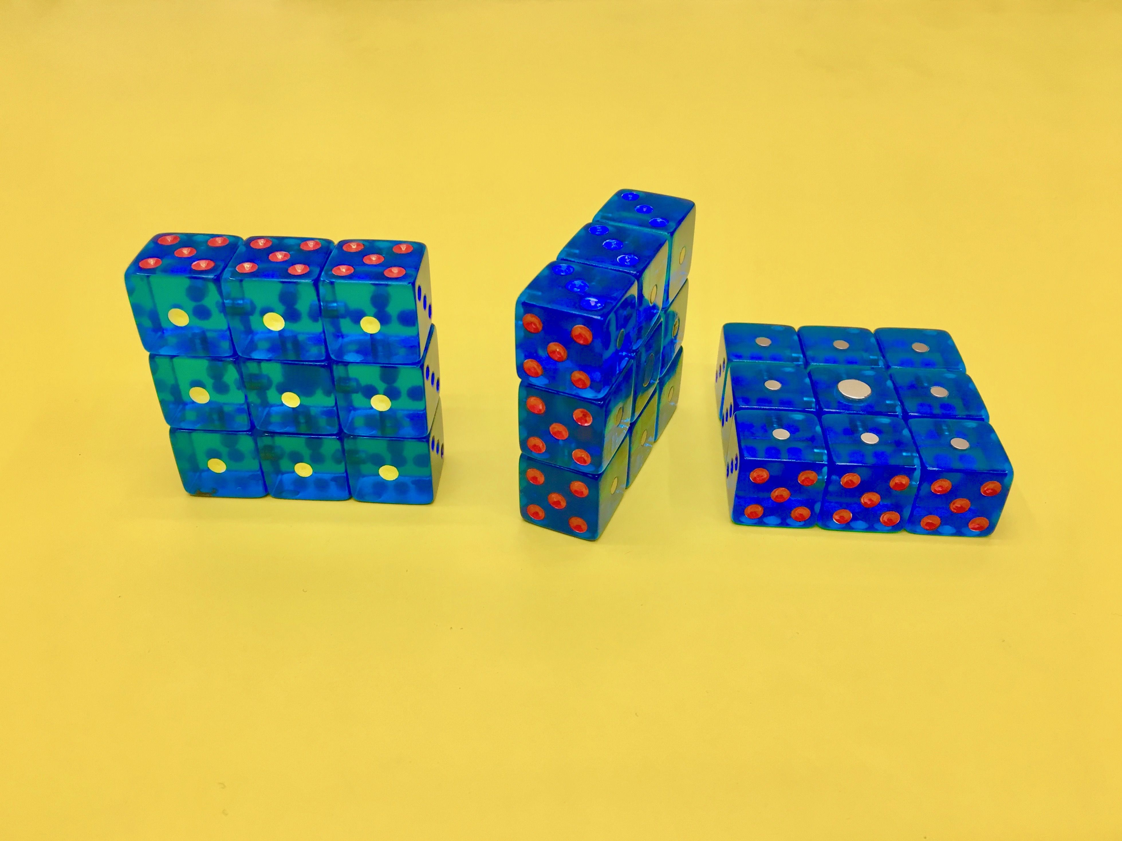 Dice Rubik's Cube First Look & Modifications. I